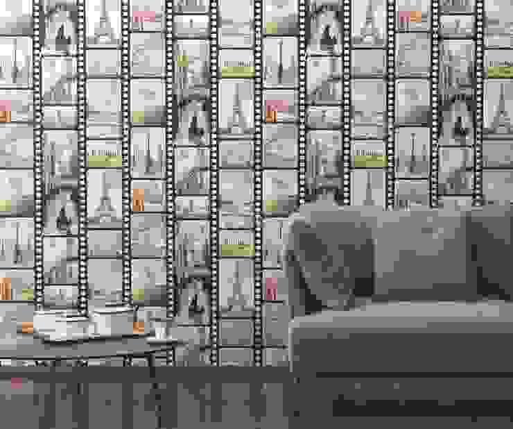 Dinding & Lantai Modern Oleh HannaHome Dekorasyon Modern