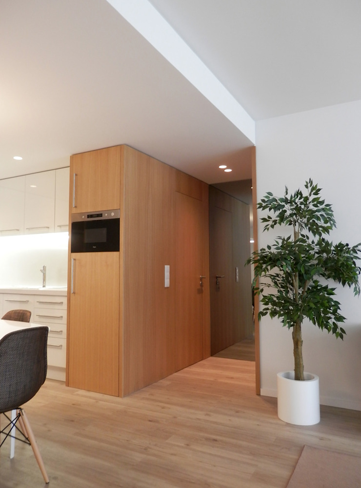 AM Flat Cozinhas modernas por EMF arquitetura Moderno