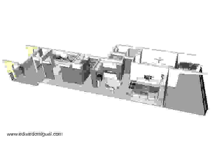 AM Flat Casas modernas por EMF arquitetura Moderno