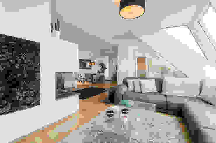 Modern Oturma Odası Horst Steiner Innenarchitektur Modern