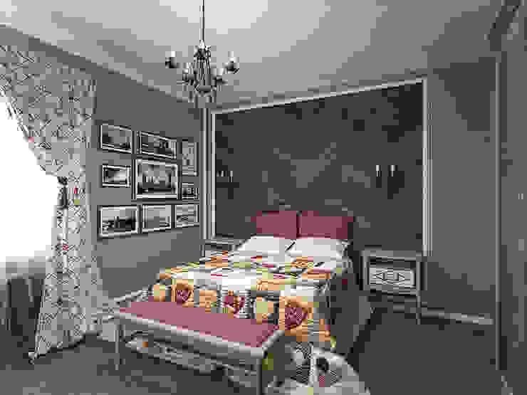 Country style bedroom by студия Виталии Романовской Country