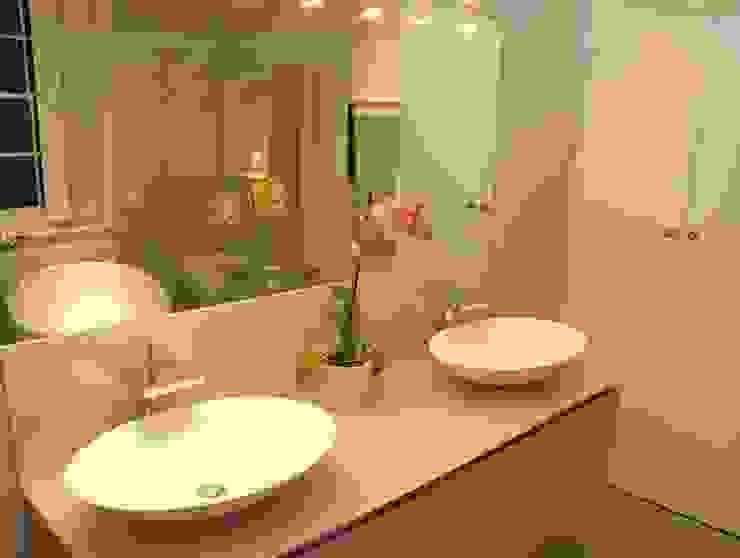 Hampstead Bathroom Refurb It All Modern bathroom Pink
