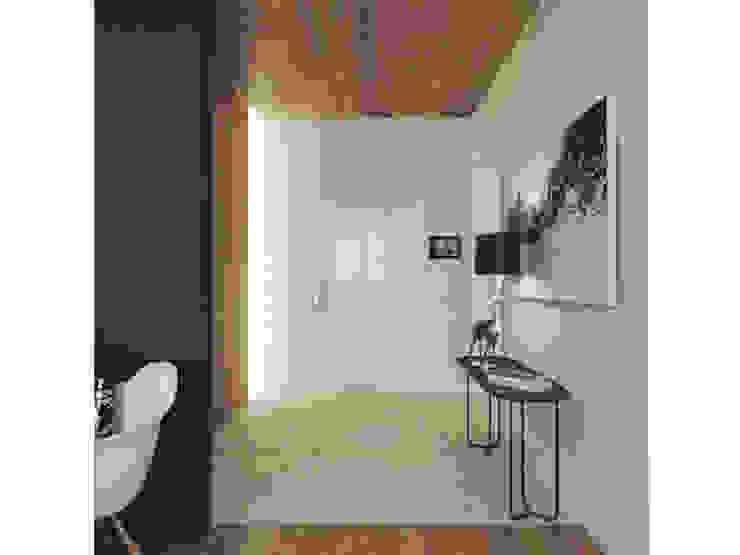 Прихожая Коридор, прихожая и лестница в скандинавском стиле от ARCHWOOD, дизайн-бюро Скандинавский Дерево Эффект древесины