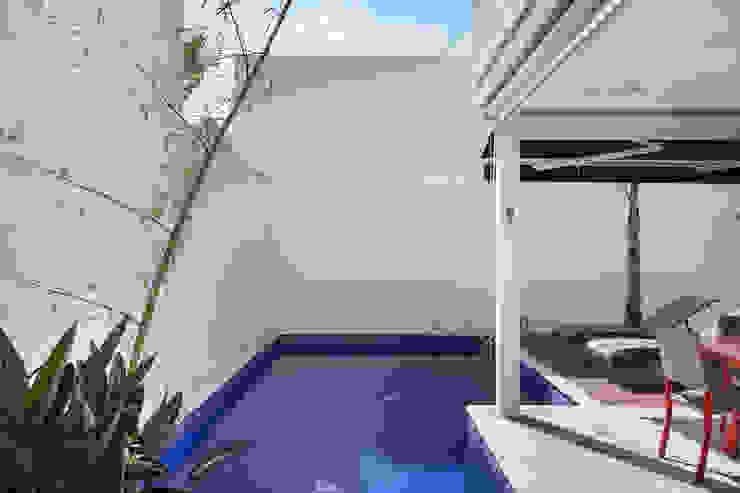 Casa Brooklin Piscinas modernas por Cactus Arquitetura e Urbanismo Moderno