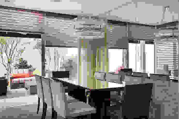 Modern dining room by Cactus Arquitetura e Urbanismo Modern