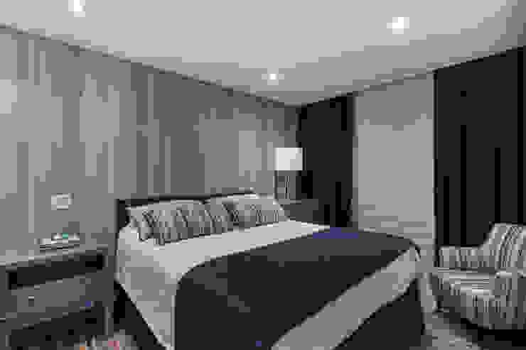 Dormitorios modernos de Cactus Arquitetura e Urbanismo Moderno