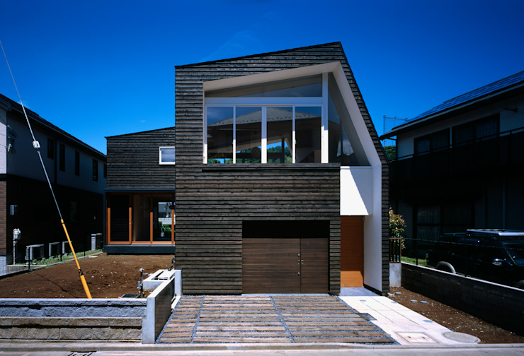 Houses by 向山建築設計事務所, Modern Wood Wood effect