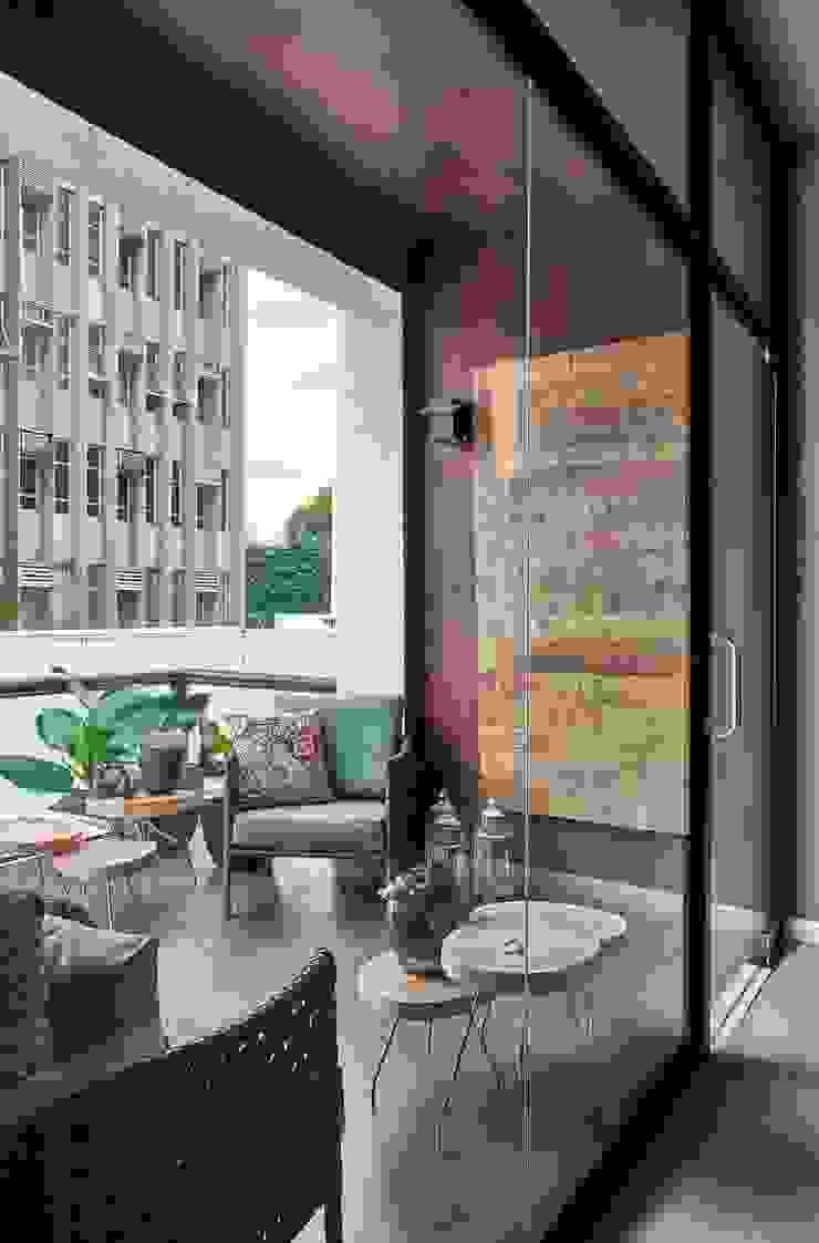 Decora Lider Campinas – Atendimento Varanda e Banheiros Varandas, alpendres e terraços modernos por Lider Interiores Moderno