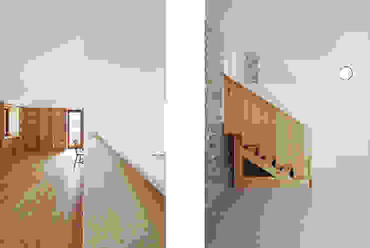 Corredores, halls e escadas minimalistas por homify Minimalista