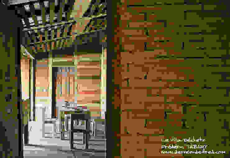 Villa Déchets à Nantes -Frederic Tabary- Salle à manger originale par Frédéric TABARY Éclectique Métal