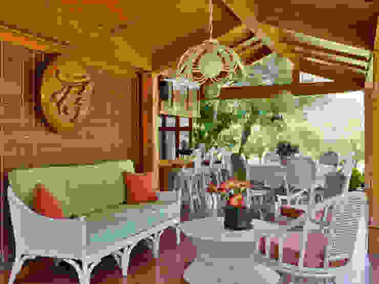 Varandas, marquises e terraços asiáticos por Excelencia en Diseño Asiático