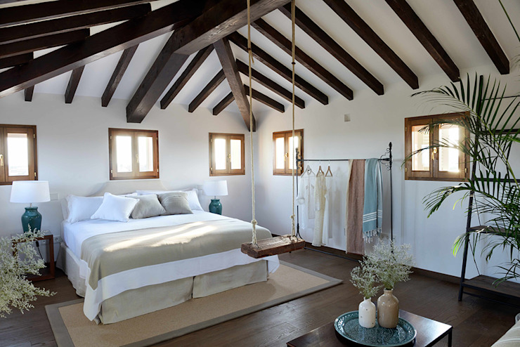 HOTEL CAL REIET – THE MAIN HOUSE Bloomint design Mediterranean style bedroom