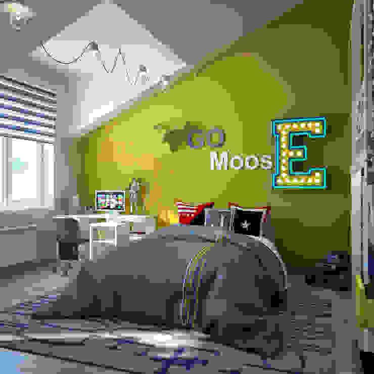 Cuartos infantiles de estilo moderno de Sweet Home Design Moderno