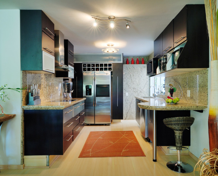 Excelencia en Diseño Asian style kitchen