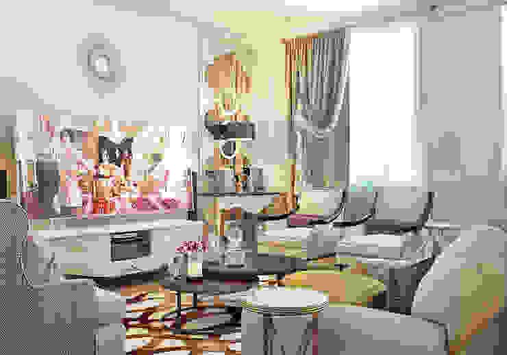 Гостиная в частном доме: Гостиная в . Автор – Sweet Home Design,