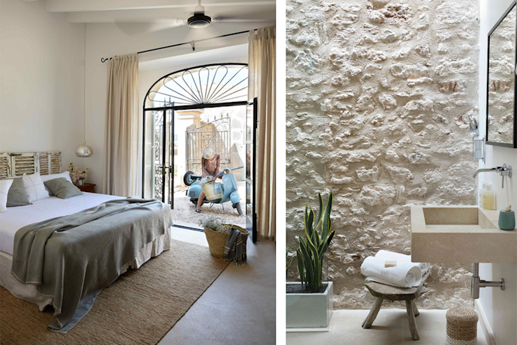 Bedroom by Bloomint design, Mediterranean