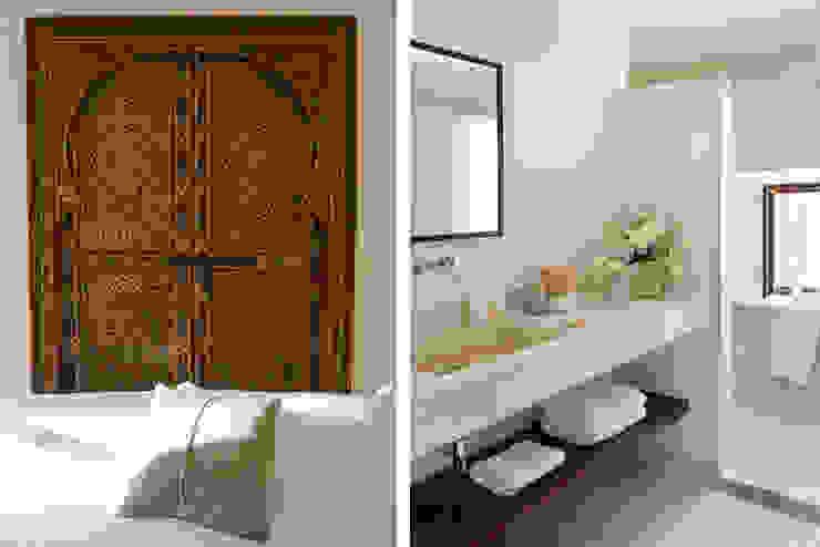 HOTEL CAL REIET – GUEST HOUSES Baños de estilo mediterráneo de Bloomint design Mediterráneo