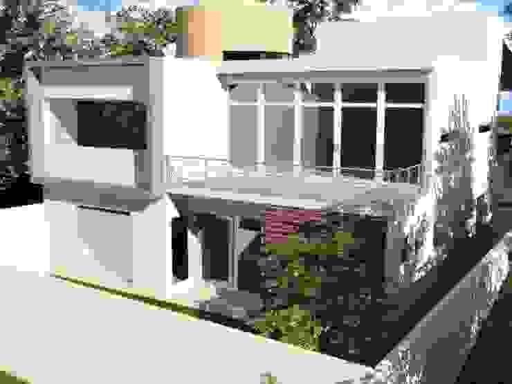CASA PD - SANTA ISABEL Casas modernas de Arquitectura . Diseño Moderno Ladrillos