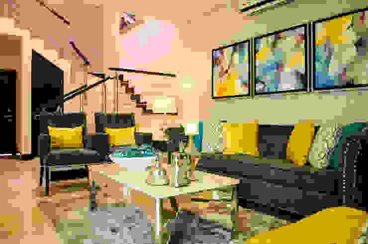 INTERIORISMO RESIDENCIAL de DOS TINTAS Home&Decor Moderno