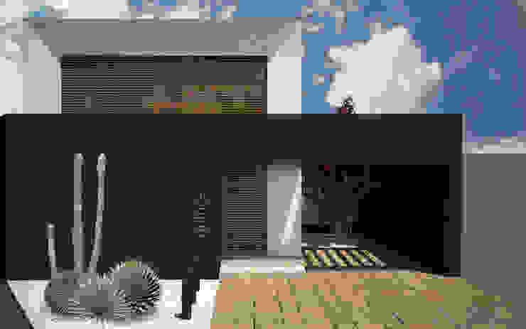 RENDER DE DÍA Casas de estilo minimalista de Región 4 Arquitectura Minimalista