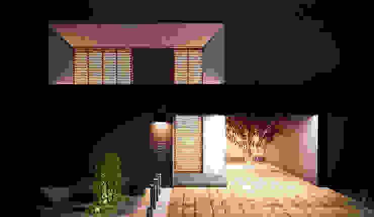 RENDER DE NOCHE Casas de estilo minimalista de Región 4 Arquitectura Minimalista