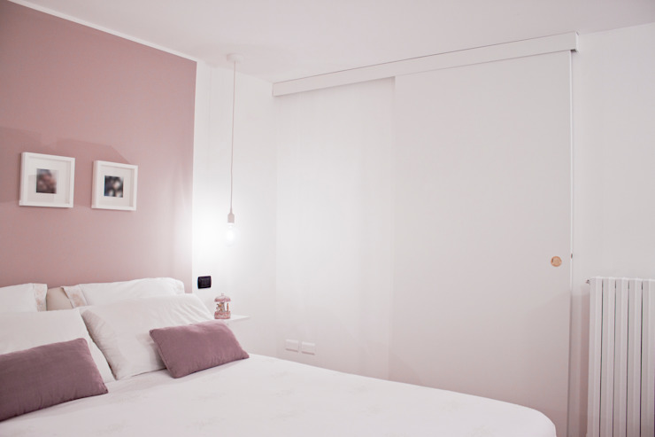 Laura Lucente Architetto Modern style bedroom