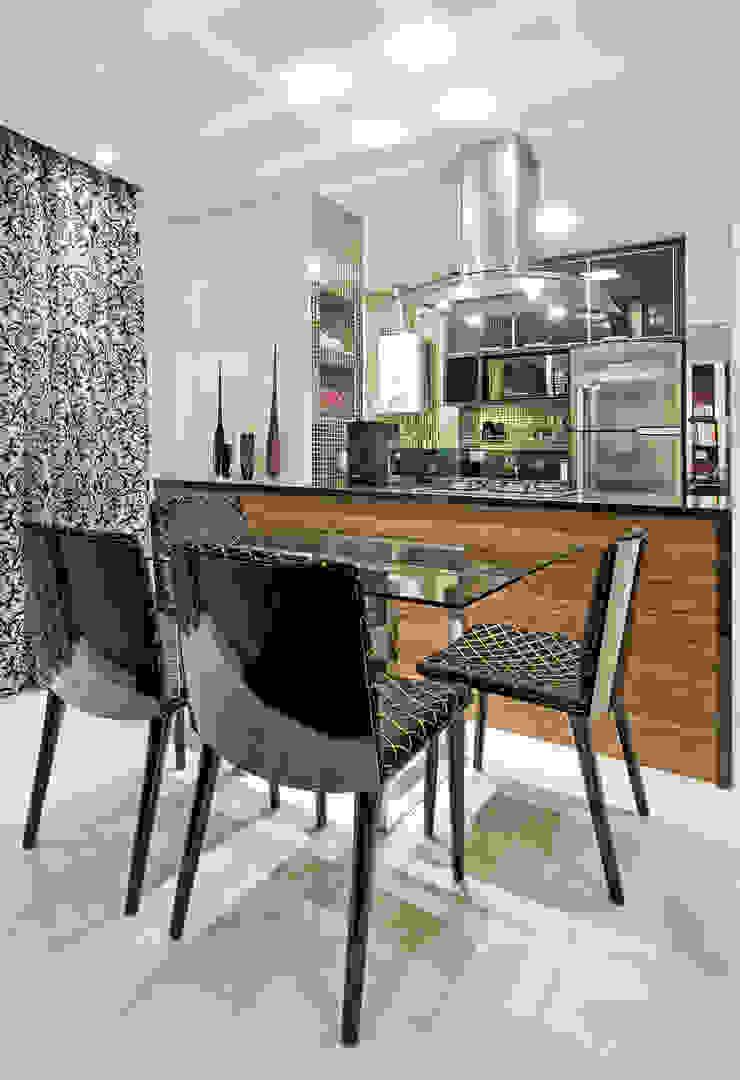 Comedores de estilo moderno de Luciana Hara Arquitetura Moderno