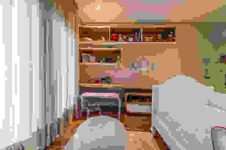 Dormitorios infantiles de estilo  por Juliana Stefanelli Arquitetura e Design , Moderno