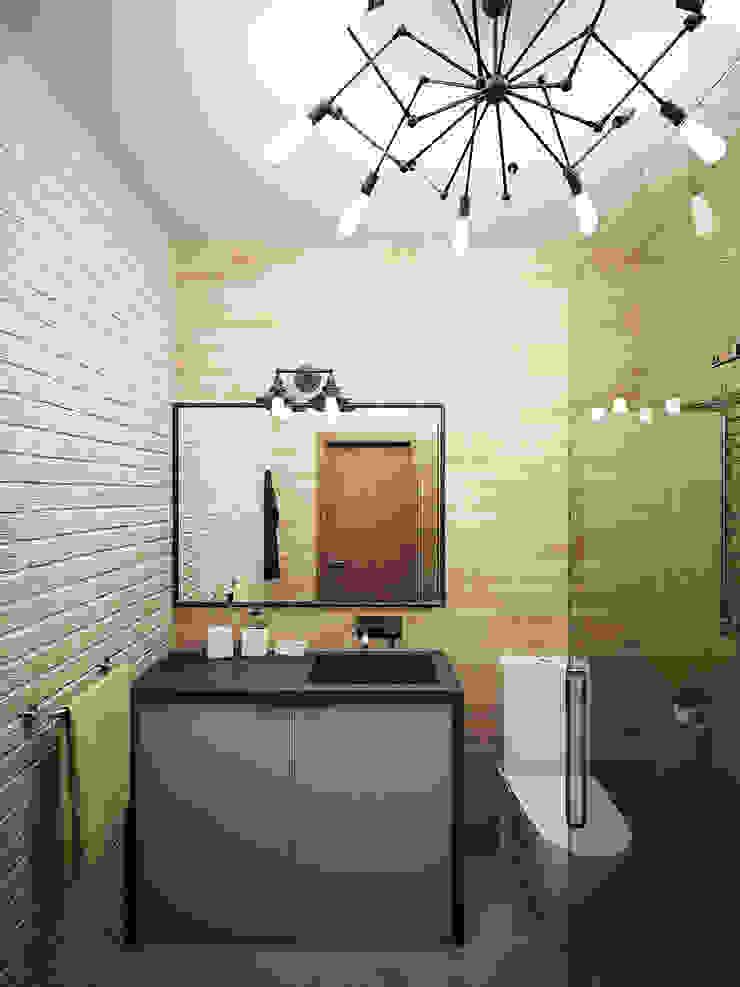 Industrial style bathroom by Студия дизайна Марии Губиной Industrial
