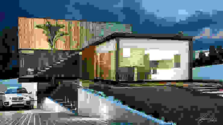 Prisma 2 Casas modernas por Lucas Buarque de Holanda Arquiteto Moderno