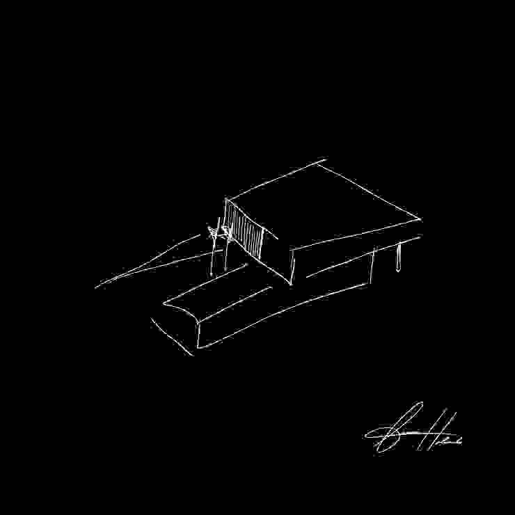 croqui por Lucas Buarque de Holanda Arquiteto Moderno