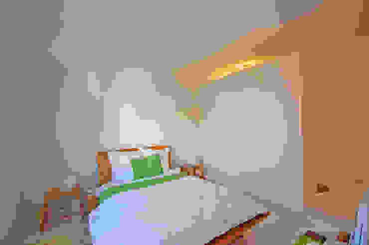 Renovação de apartamento na Junqueira: Quartos  por Borges de Macedo, Arquitectura.