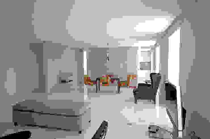 Renovação de apartamento na Junqueira Salas de jantar modernas por Borges de Macedo, Arquitectura. Moderno