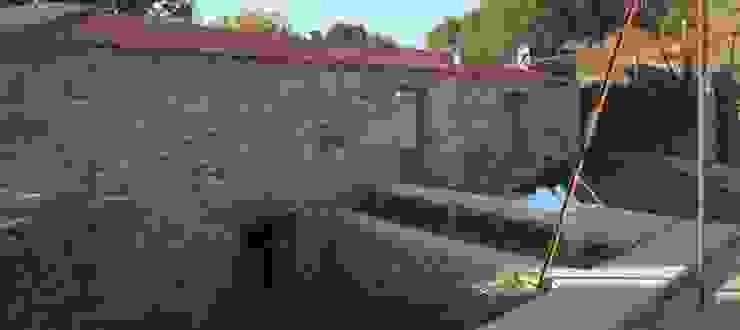 Turismo Rural em Paredes de Coura Jardins modernos por Escritorio de arquitetos Moderno