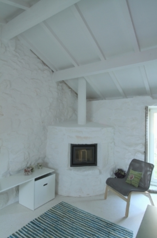 Turismo Rural em Paredes de Coura Salas de estar modernas por Escritorio de arquitetos Moderno