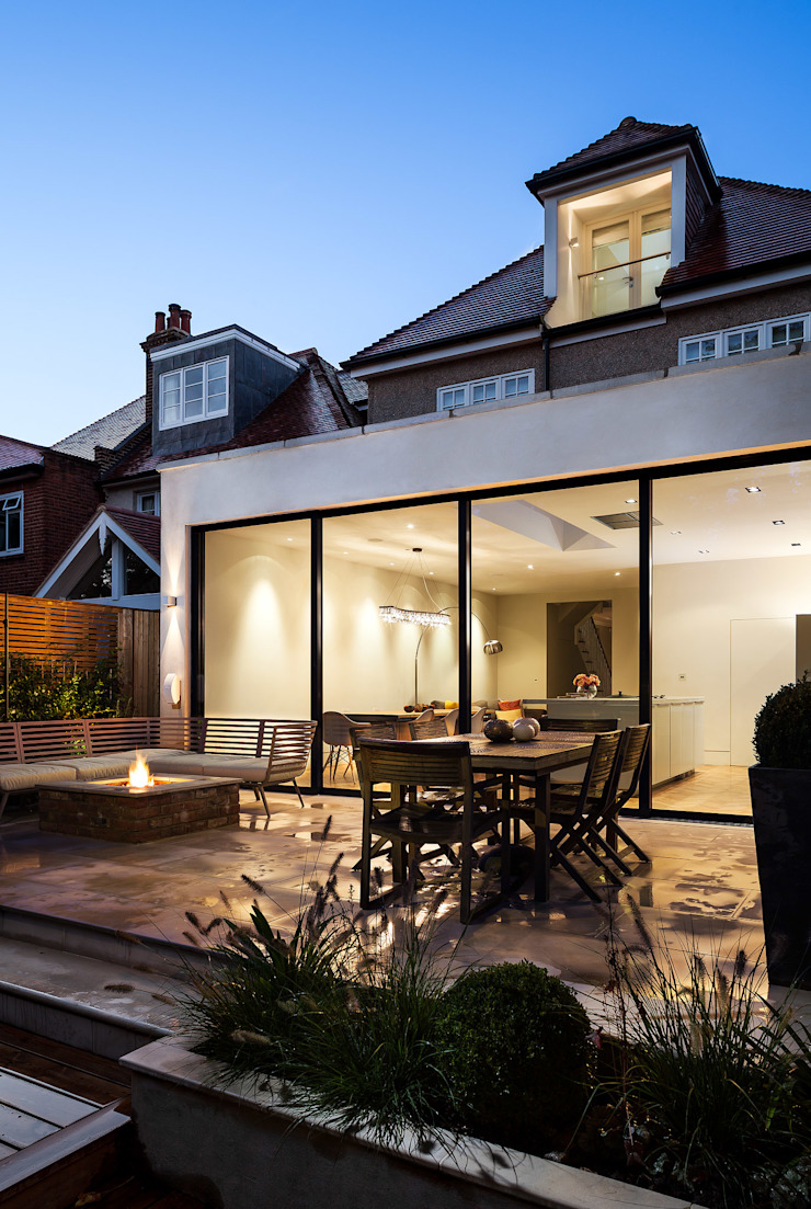 Ashley Road Balcon, Veranda & Terrasse modernes par Concept Eight Architects Moderne