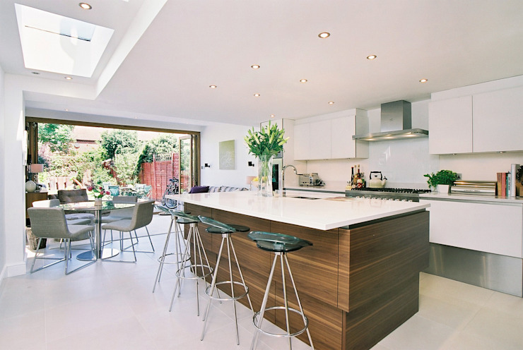 Swaffield Road Concept Eight Architects Modern style kitchen