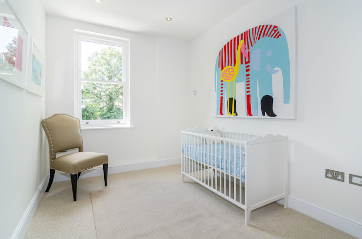 Nursery/kid's room by Concept Eight Architects,