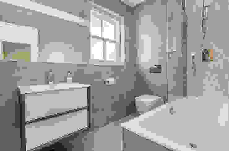 Oakhill Road, Putney Baños de estilo moderno de Concept Eight Architects Moderno