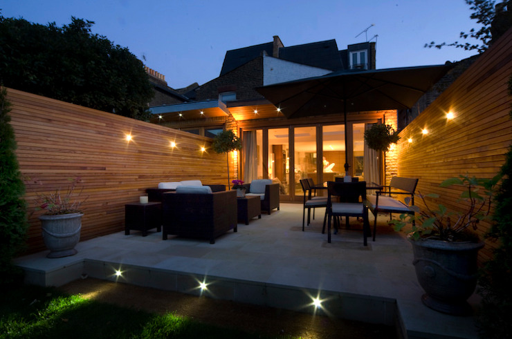 Swaffield Road Concept Eight Architects Jardines de estilo moderno