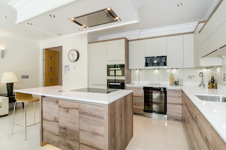 Oakhill Road, Putney Modern kitchen by Concept Eight Architects Modern