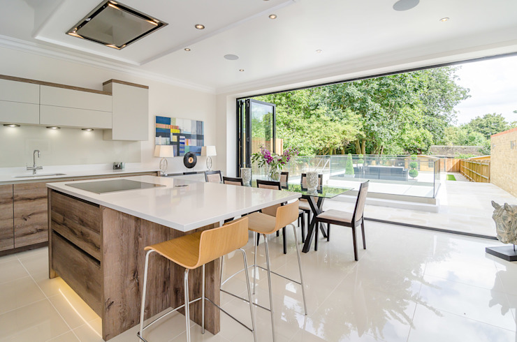 Oakhill Road, Putney:  Kitchen by Concept Eight Architects,