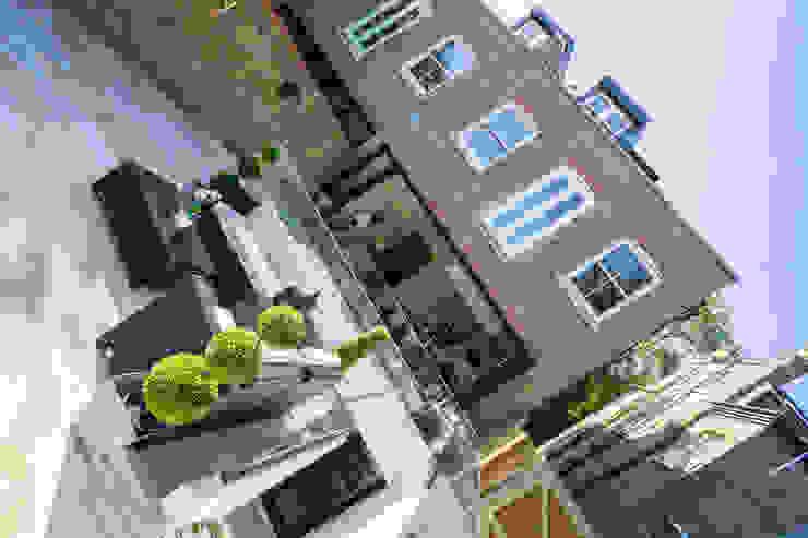 Oakhill Road, Putney Pasillos, vestíbulos y escaleras de estilo moderno de Concept Eight Architects Moderno