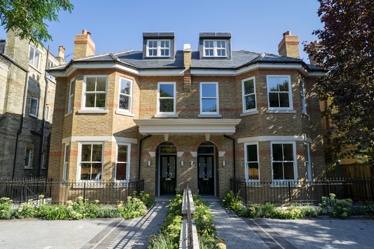 Oakhill Road, Putney Casas modernas por Concept Eight Architects Moderno