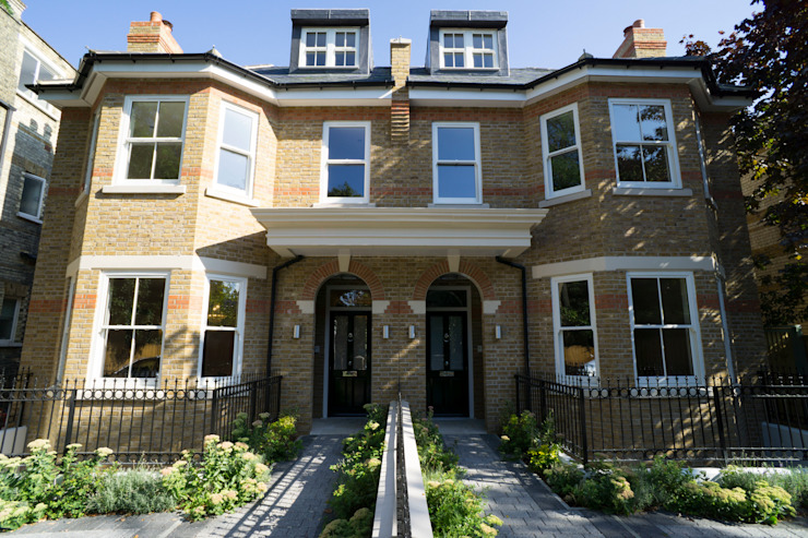 Oakhill Road, Putney Casas de estilo moderno de Concept Eight Architects Moderno