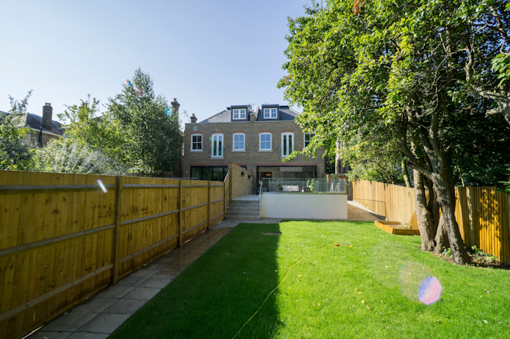 Oakhill Road, Putney Jardines de estilo moderno de Concept Eight Architects Moderno