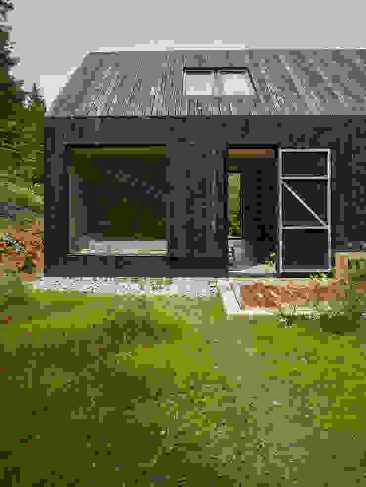 Backraum Architektur Rumah Modern Kayu Black