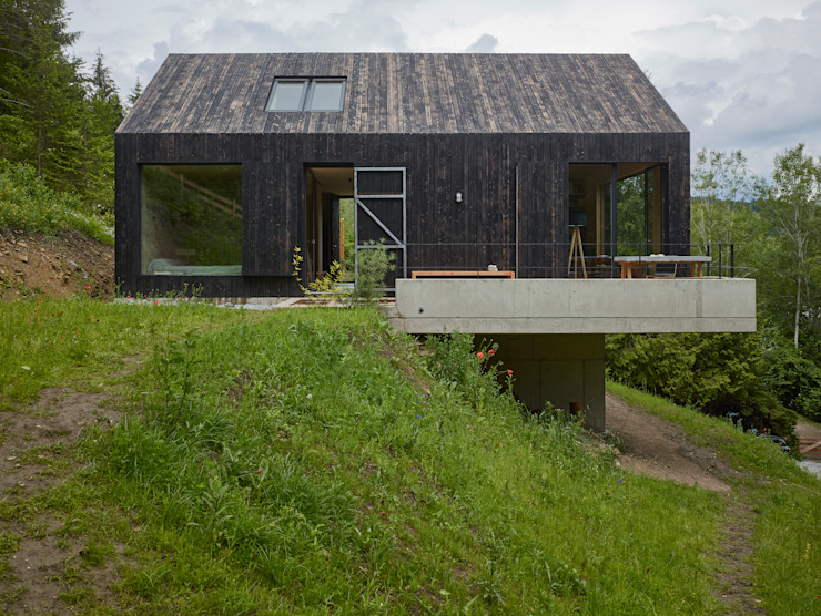 Casas  por Backraum Architektur,