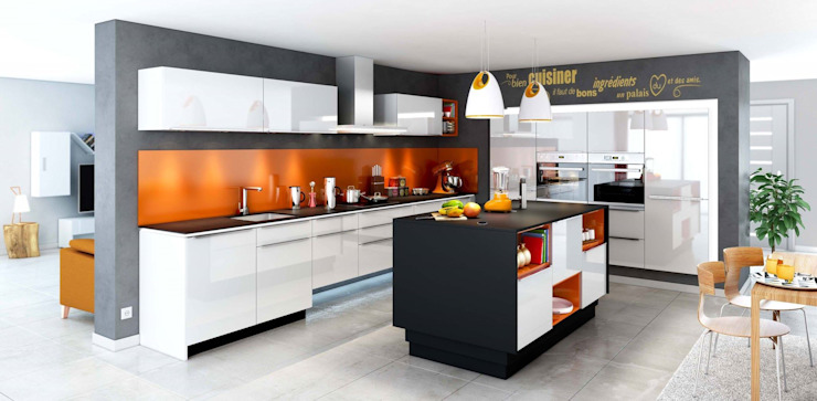 Modern Kitchen by Atelier Cuisine Modern