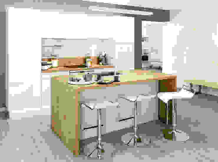 Cocinas de estilo  por Atelier Cuisine, Moderno